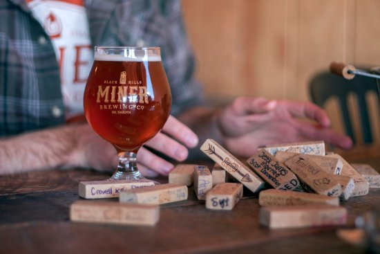 Hill City, Dakota del Sur: Beer and Jenga