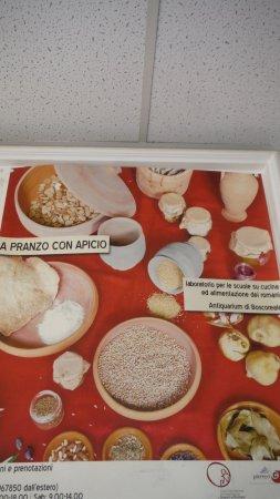 Boscoreale, Italia: Cosa mangiavano gli antichi romani