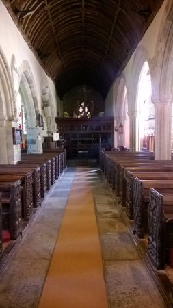 Bude, UK: The nave.
