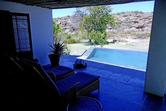 Amazing Bushmans Kloof Wilderness Reserve U0026 Wellness Retreat: Riverside Suite Patio  And Private Pool