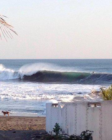 "El Transito, Nicaragua: le spot ""pistols"" devant la maison"