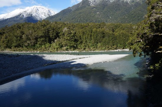 วานากา, นิวซีแลนด์: The pools.
