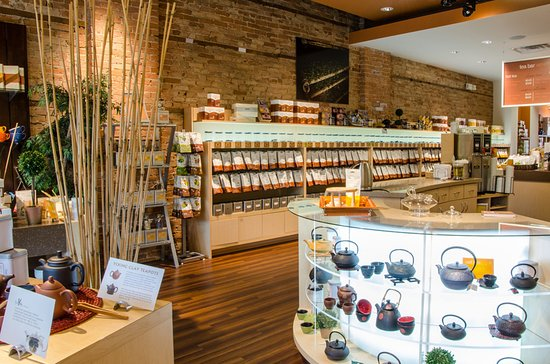 Naperville, IL: Lots of teapot, cups and kettles to enhance your enjoyment of tea.