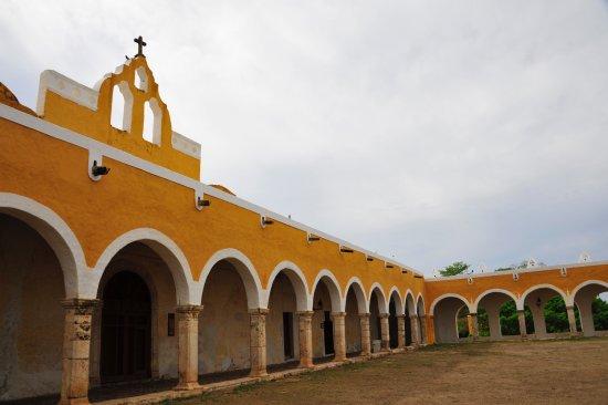 Izamal, Meksika: vistas convento