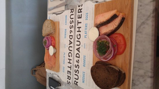 Photo of American Restaurant Russ & Daughters Cafe at 127 Orchard St, New York, NY 10002, United States