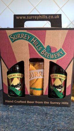 Dorking, UK: Shere Drop giftbox