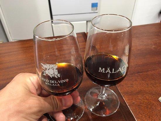 Museo del Vino Malaga : Cata