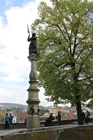 Lindenhof, Zurich, Switzerland.
