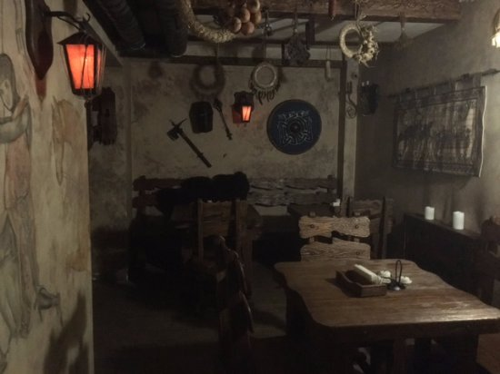 Reikartz Medieval: אחד החללים המשמש כאולם לארוחת בוקר