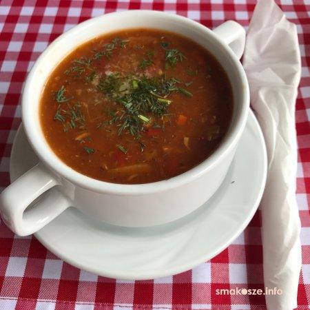 Milkow, Poland: zupa rybna