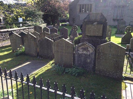 Grasmere, UK: Wordsworth Family graves