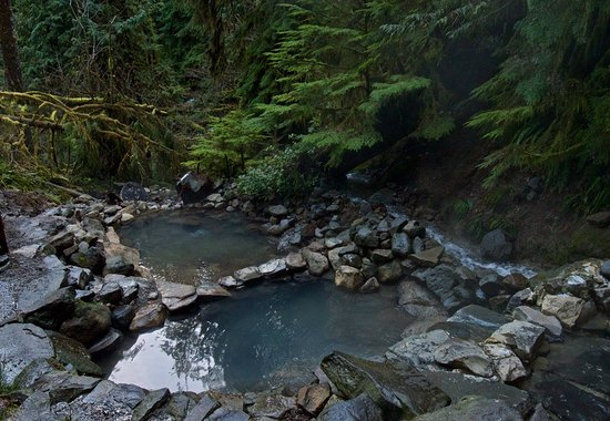 Vida, Орегон: Picture of Cougar Hot Springs - only about 30 minutes from the Lodge!
