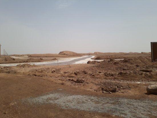 Shahdad, Iran: Il fiume salato