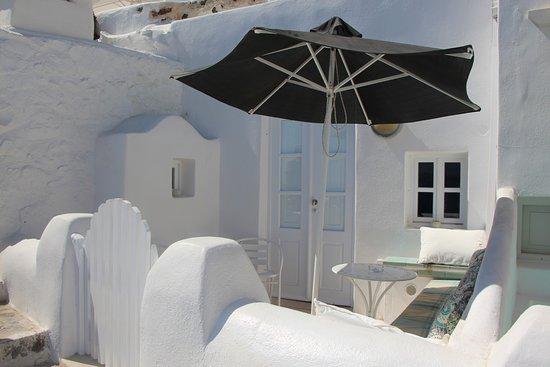 Oia Collection Suites and Villas: Appartement vue de l'extérieur