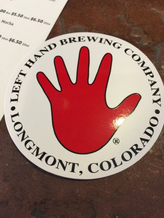 Longmont, CO: the sticker we were given :)