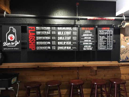 Longmont, CO: The menu