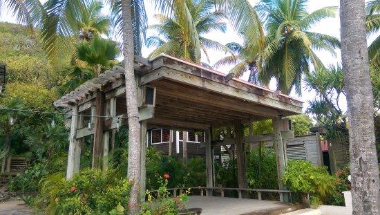 North Sound, Virgen Gorda: Event pavilion