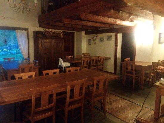 Pontboset, Italia: sala pranzo
