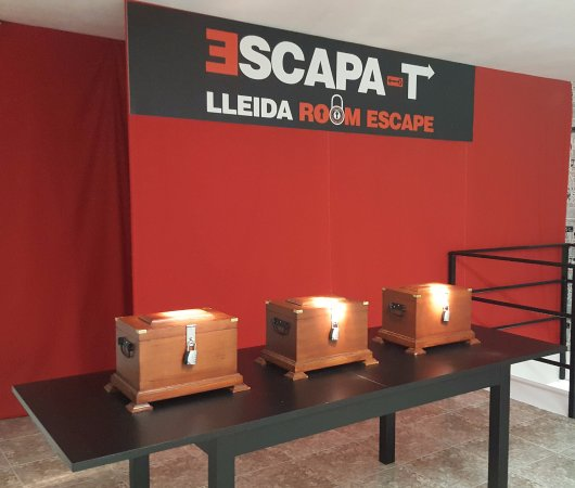 Escapa T Lleida Room Escape