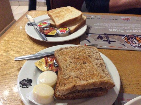 Randburg, South Africa: Toast