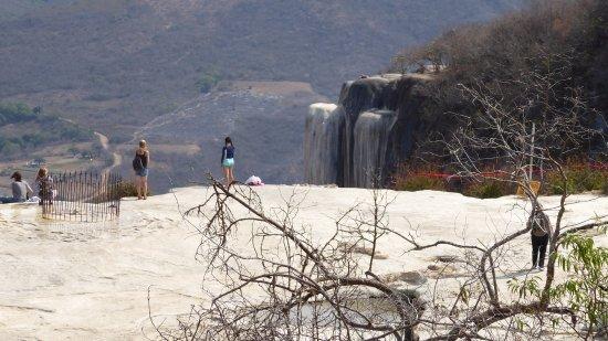 Hierve el Agua: The frozen waterfall