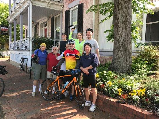 Ohiopyle, PA: Our fun group