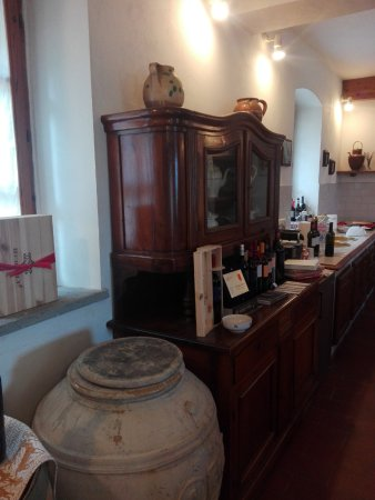 Cantina Berioli: La sala della degustazione