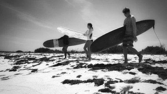 Gregory Town, Eleuthera: Learning to Surf