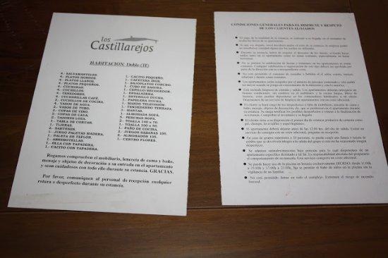 Luque, Hiszpania: Condiciones de los apartamentos
