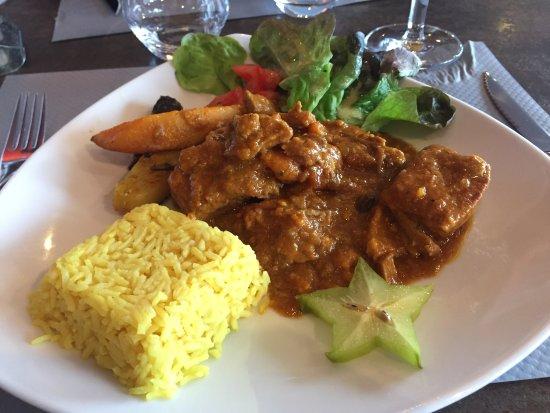 Roncq, France: Le porc à la mauricienne de Chef Guy !