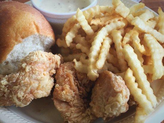 Pecos, TX: Very good fast food chicken tenders.