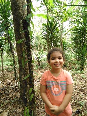 Diriamba, Nicaragua: Mi hija feliz de mantenerse cerca de la naturaleza