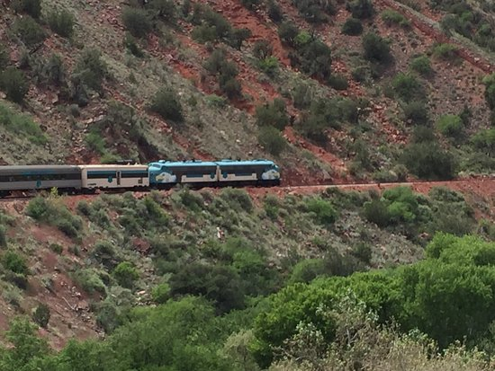 Verde Canyon Railroad: Spectacular views