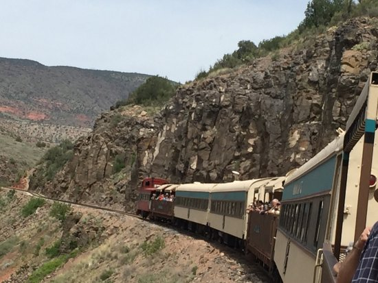 Verde Canyon Railroad : Spectacular views