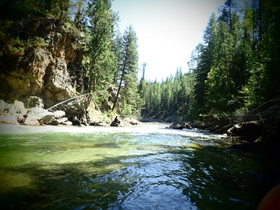Skookumchuck, Kanada: the river!