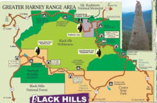 Sheridan, WY: Visit the Black Hills in style and comfort.