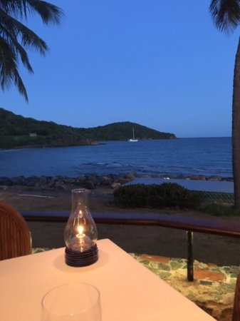 Frenchtown, St. Thomas: View at 7:00pm