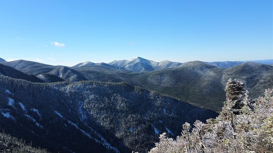 Adirondacks, NY: On top of saddleback during the month of October