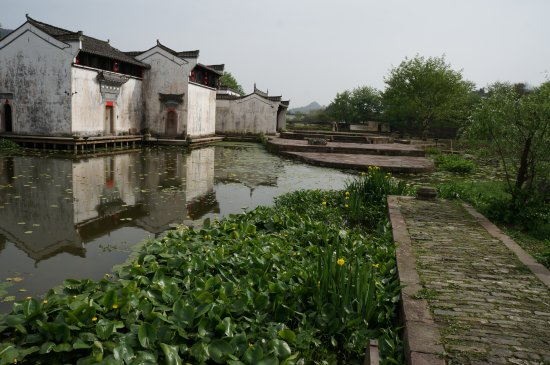 Ancient Buildings of Chengkan Village : Preserved part of the village.