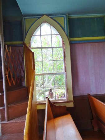 Honaunau, Hawái: pics from painted church