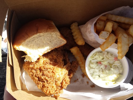 Adel, GA: The best Southern fried chicken and the works