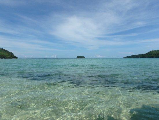 Kota Belud, Malaysia: Clear water