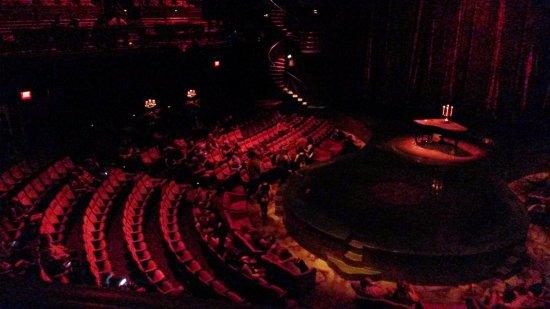 Zumanity - Cirque du Soleil: Zumanity - Vegas - Before the show.