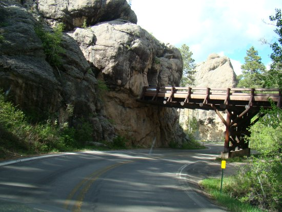 Peter Norbeck Scenic Byway : Pigtail Bridge