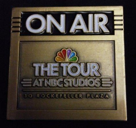 The Tour at NBC Studios: Souvenir Pin
