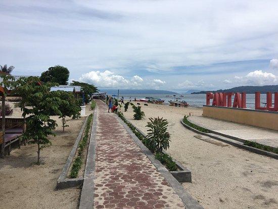Bul Bul Strand Am Toba See Foto Pantai Lumban Bul Bul