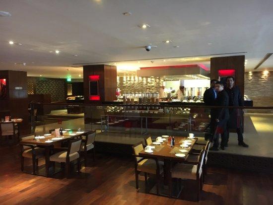 Hilton Garden Inn New Delhi / Saket: Café da manhã excelente!