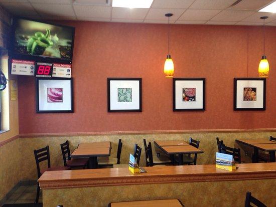 Cartersville, GA: Subway at Love's Truck Stop