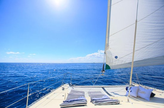 Half-Day Private Catamaran Tour with...