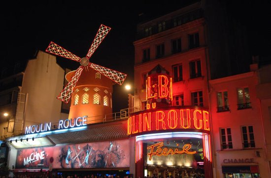 Seine River Cruise en Moulin Rouge ...